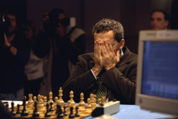 PA: 10th February 1996 - Chess Champion Garry Kasparov Versus Deep Blue