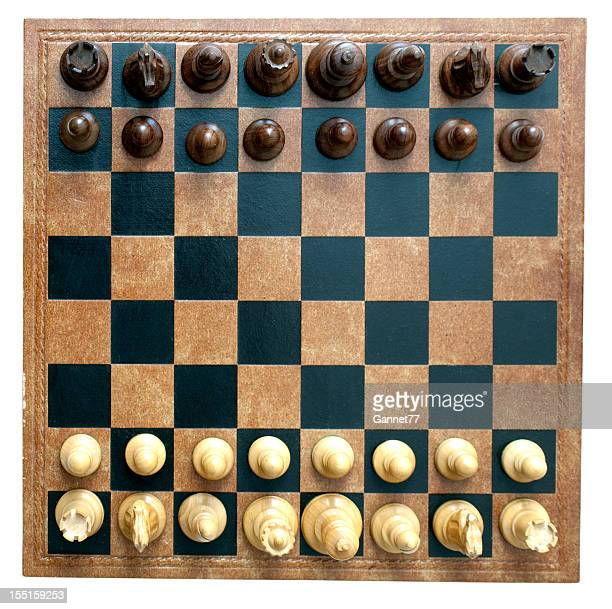 chess board and pieces - chess board stock pictures, royalty-free photos & images