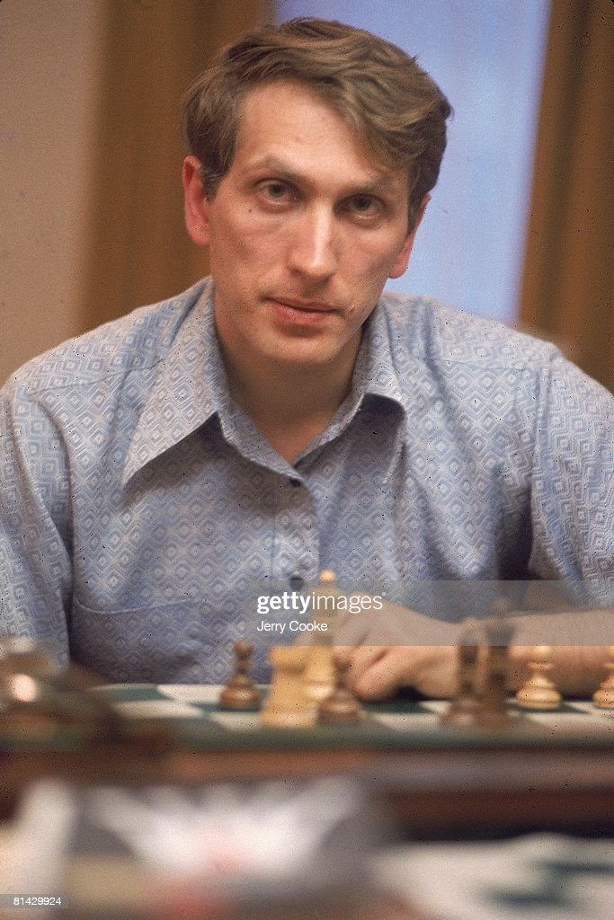 Closeup portrait of Bobby Fischer before match vs Boris Spassky, Reykjavik, ISL 6/30/1972