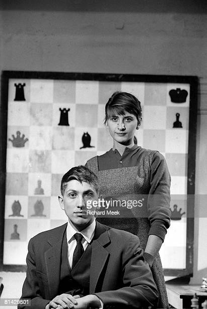 Chess Closeup portrait of Bobby Fischer New York NY 1/6/1961
