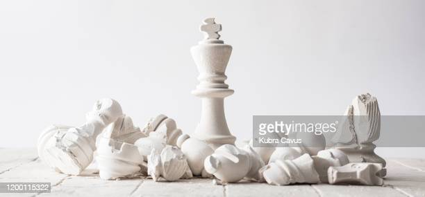 chess concept - defeat stock pictures, royalty-free photos & images