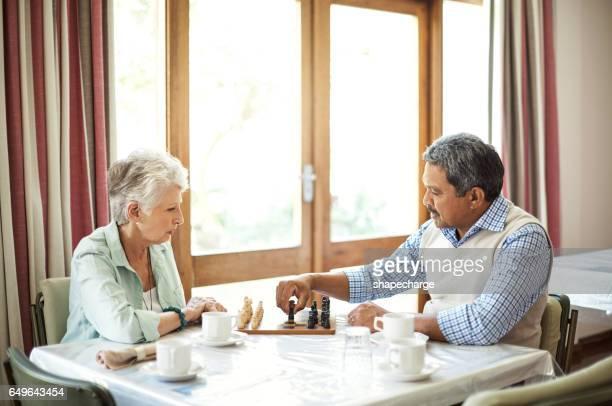Jeu d'échecs exerce le cerveau même à travers les années seniors