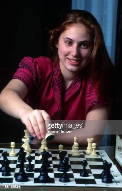 Chess grandmaster Judit Polgar is photographed July 8, 1992 in New York City.