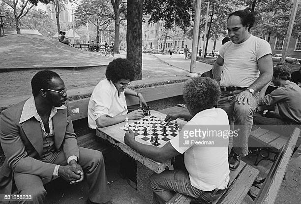 Chess in the park New York City circa 1976