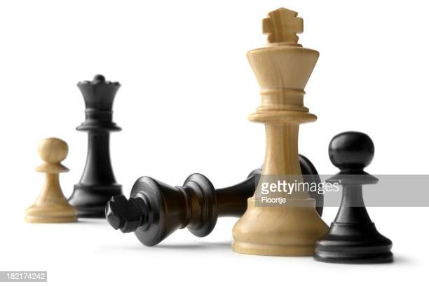 Chess: Kings, Queen and Pawns