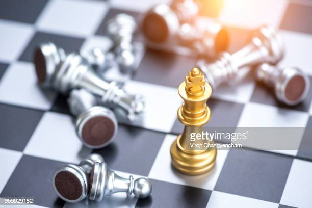 Chess leadership concept
