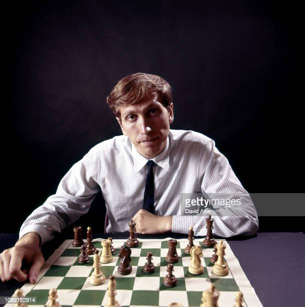 Chess master Bobby Fischer poses for a portrait on August 10 1971 in New York City New York