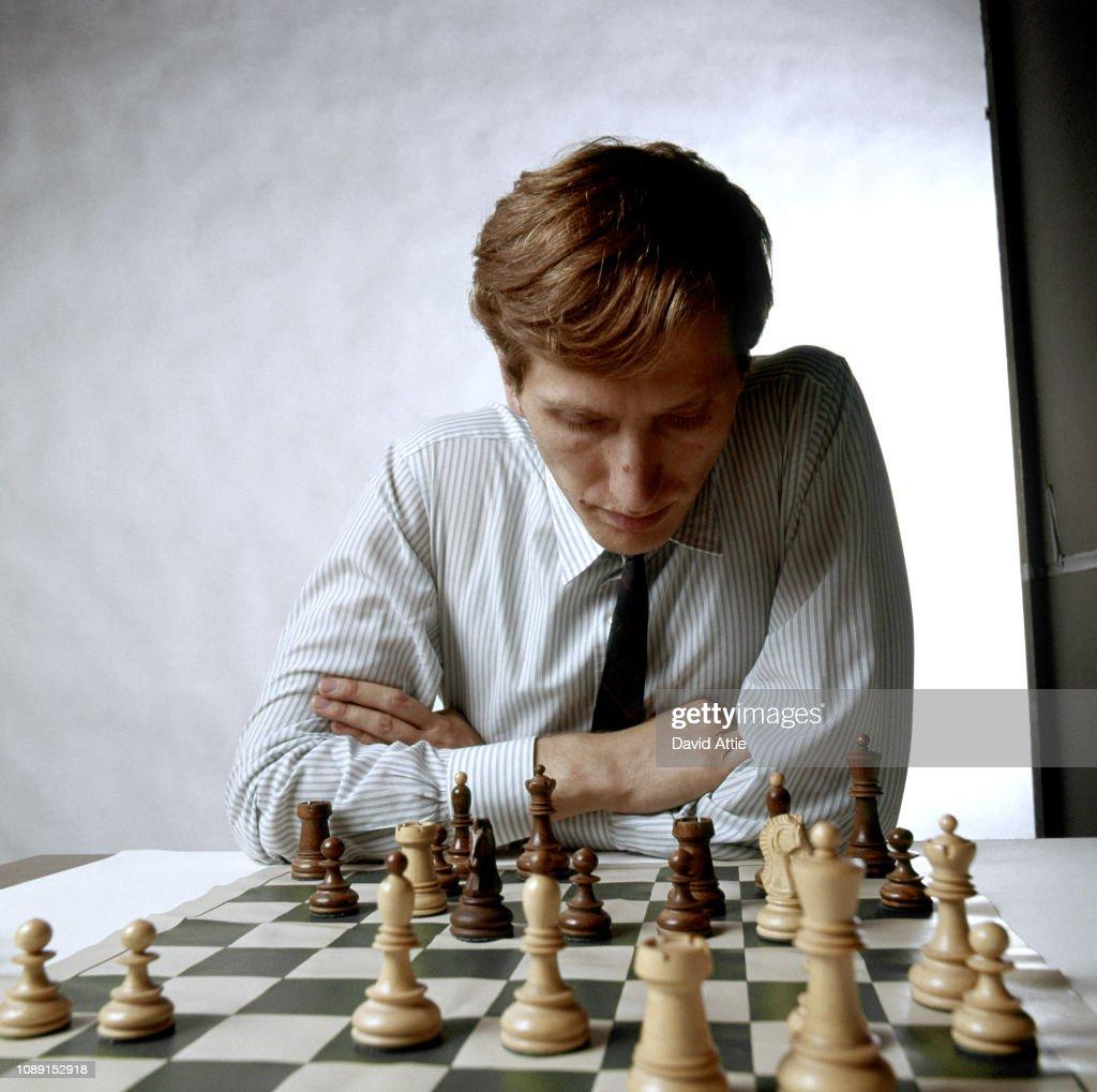 Bobby Fischer Portrait Session : Foto jornalística