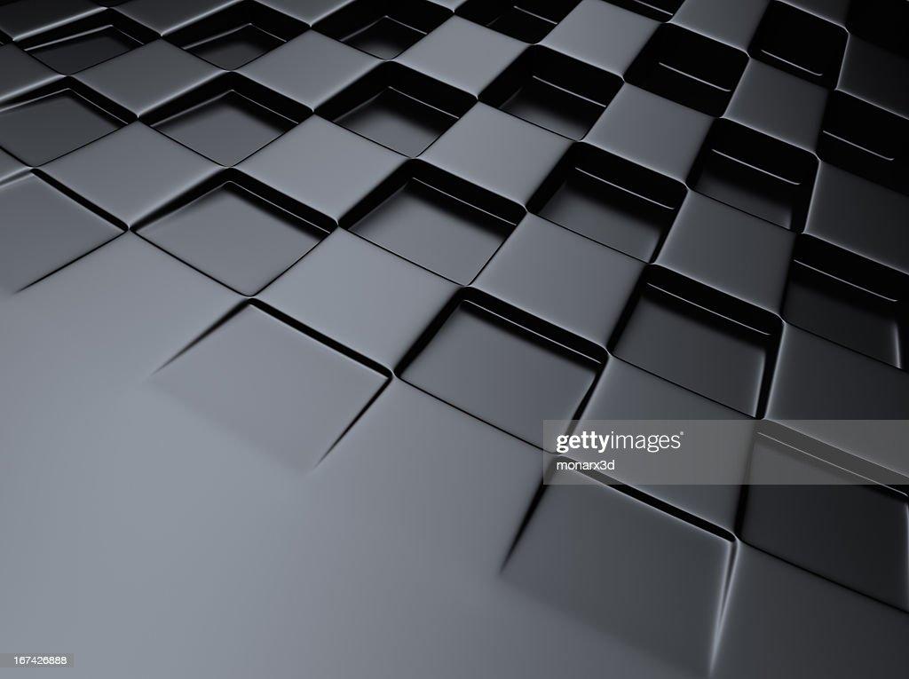 Fundo Xadrez metálico : Foto de stock