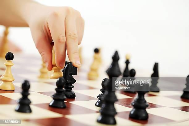 De ajedrez.