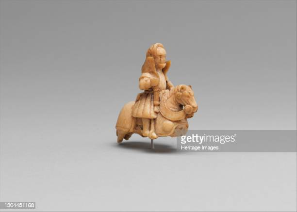 Chess Piece in the Form of a Knight, Western European, possibly Germany or England, circa 1510-30. Artist Unknown.