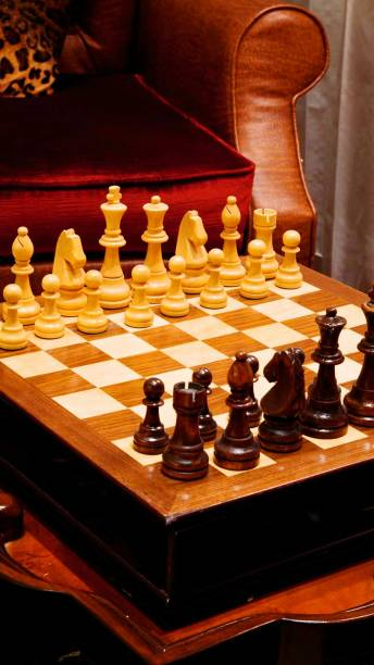 Chess Pieces By Armchair