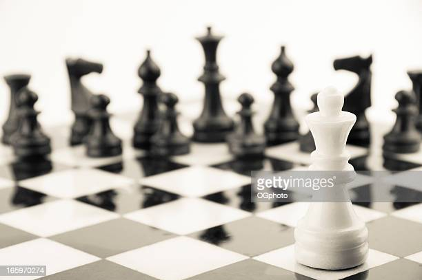 chess pieces - ogphoto stock pictures, royalty-free photos & images