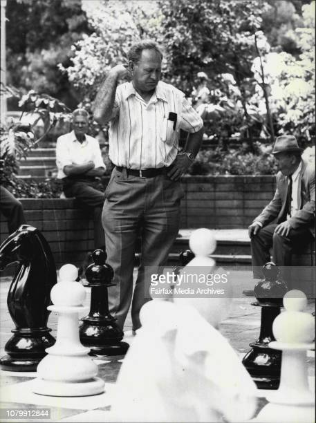 Chess player Vladimir Roudenko contemplates without a log of crowd supportFederation of Australian Sports has declared the game of chess a...