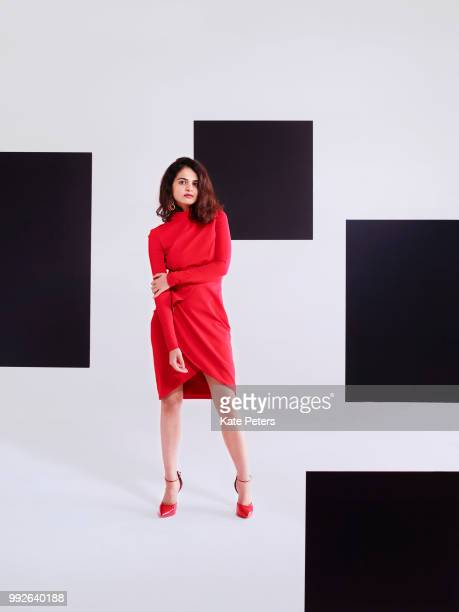 Chess player, who holds the FIDE titles of International Master and Woman Grandmaster Tania Sachdev is photographed for the Telegraph on September...