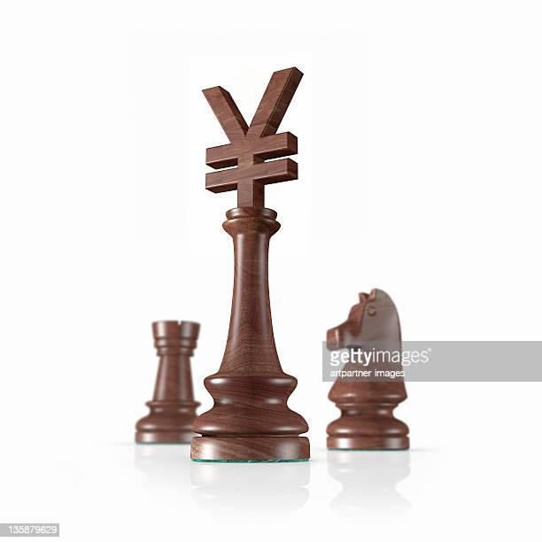 Chess, the Kings head is a Yen Symbol