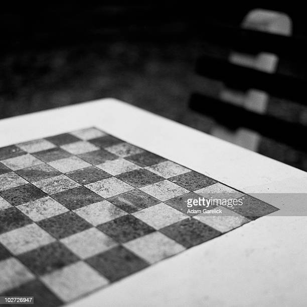 Chessboard and Bench