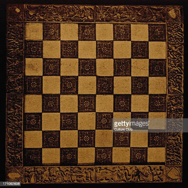 Chessboard from 15th century