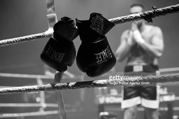 Chessboxer Jonathan Rodriguez Vega from Spain after he lost the Middleweight World Championship against the title defender Sven Rooch from Germany...