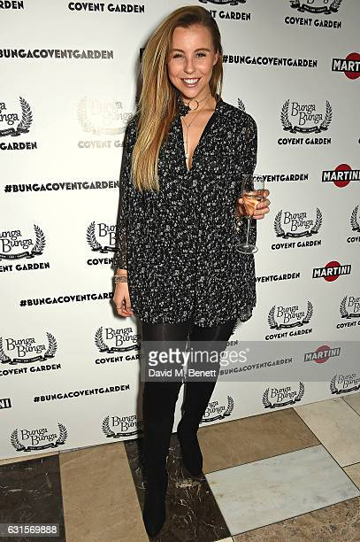 Chessie King attends the launch of Bunga Bunga in Covent Garden on January 12 2017 in London England