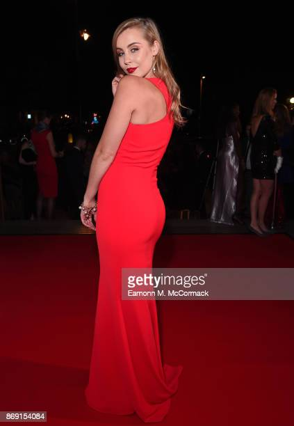 Chessie King attends the Team GB Ball at Victoria and Albert Museum on November 1 2017 in London England