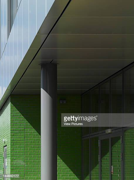 Chessington Community College Garrison Lane Chessington Surrey United Kingdom Architect Iid Architects Chessington Community ColegeCladding Detail