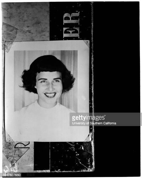 Chessman sentenced 24 February 1954 Mary Alice Mesa CopyCaption slip reads 'Photographer Brunk Date Reporter Emerson Assignment Chessman Sentence...