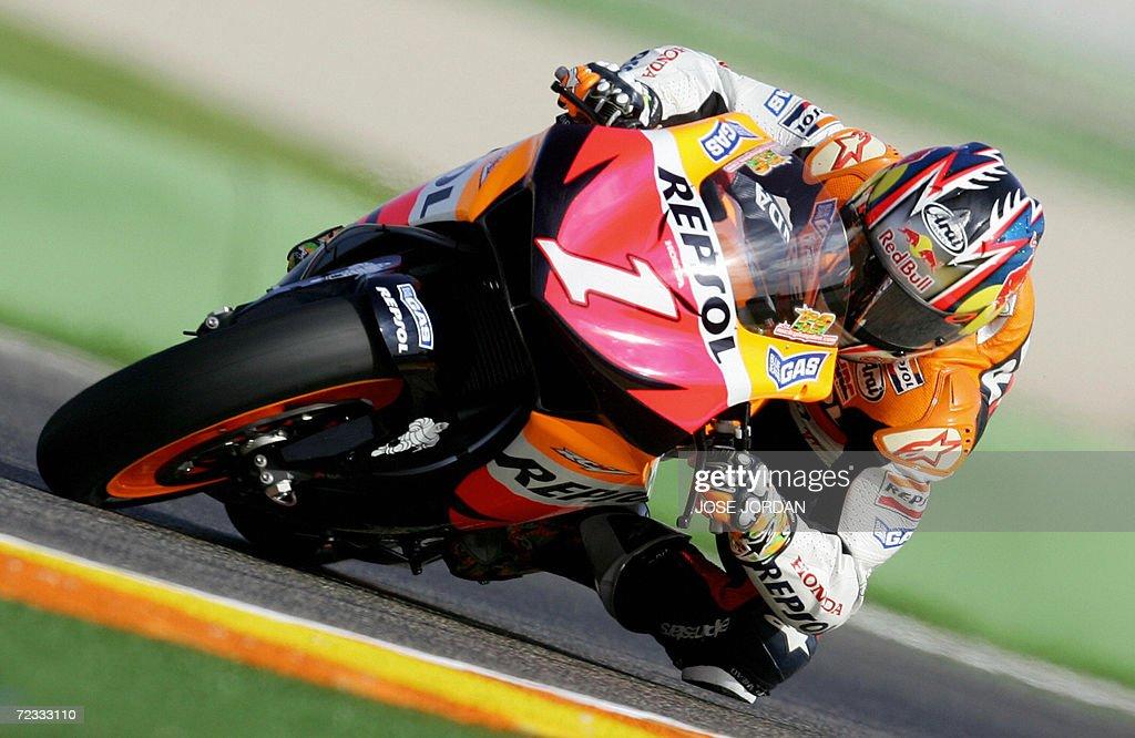 World MotoGP Riders Train At Ricardo Tormo Racetrack