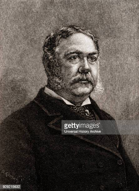 Chester Alan Arthur 1829 –1886 American attorney politician and 21st President of the United States of America From The History of Our Country...