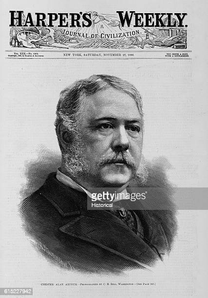 Chester Alan Arthur Photographed by CM Bell Washington See page 767