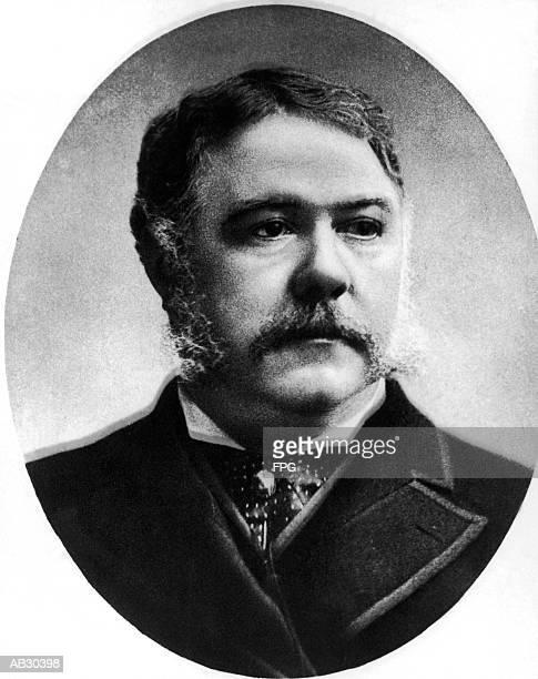 Chester Alan Arthur (1830-86), twentyfirst US President (B&W)