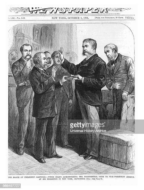 Chester Alan Arthur's Inauguration 21st President of the United States Dated 1881