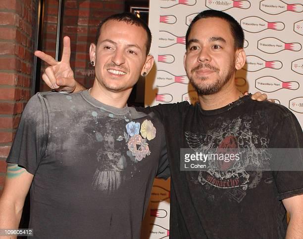 Chester Bennington and Mike Shinoda of Linkin Park