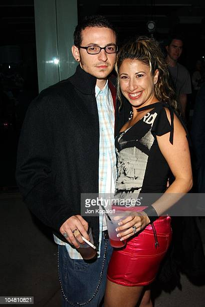 Chester Bennington from Linkin Park and wife Samantha