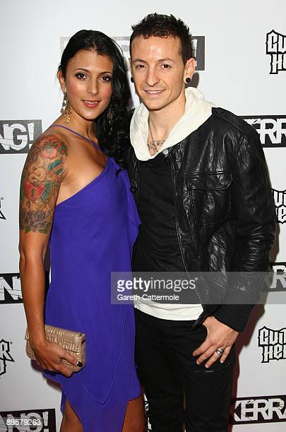 Chester Bennington of Linkin Park attends The Kerrang Awards 2009 held at The Brewery on August 3, 2009 in London, England.