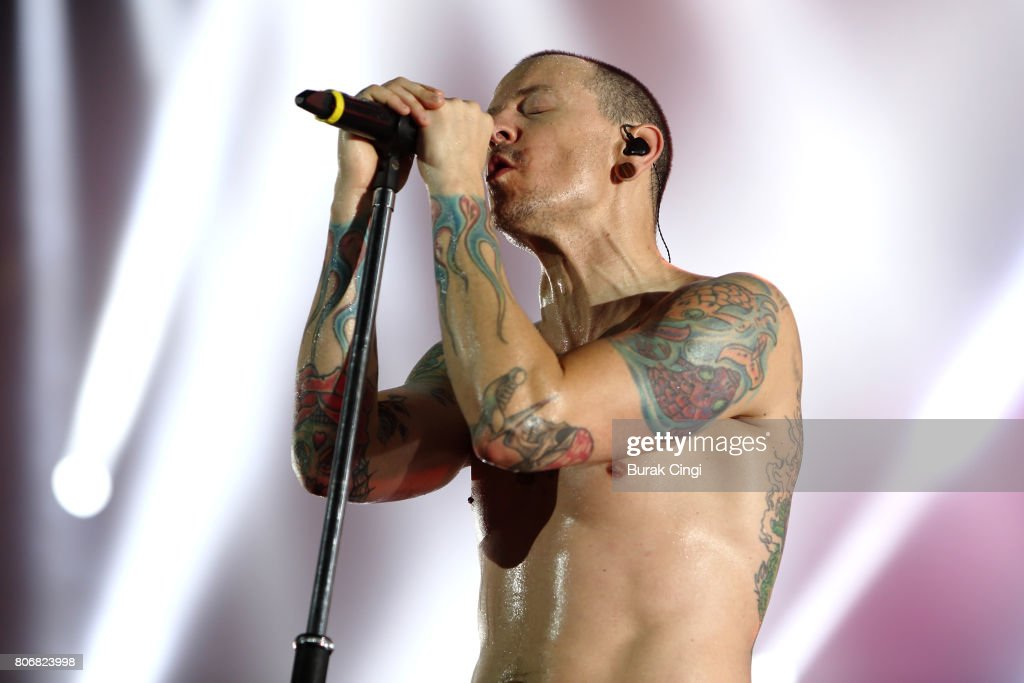 Linkin Park Perform At The 02 : ニュース写真