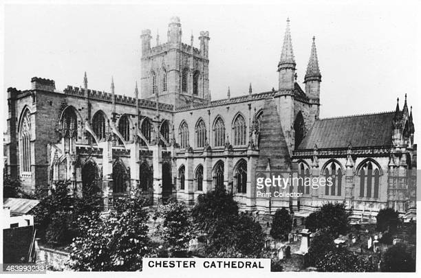 Chester Cathedral 1936 Sights of Britain second series of 48 cigarette cards issued with Senior Service Junior Member and Illingworth cigarettes