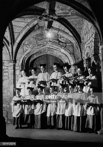 Chester Cathedral Choir On December 5Th 1952