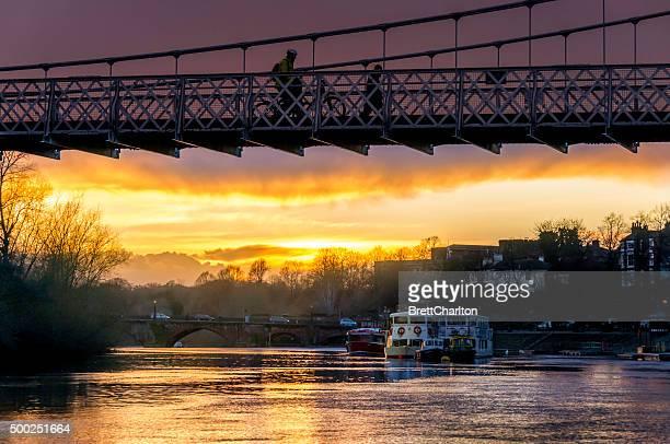 Chester Winter Sunset