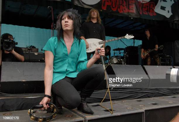 """Chesterfield Kings during Steven Van Zandt Hosts """"Save CBGB"""" Rally and Concert in Washington Square Park, NYC at Washington Square Park in New York,..."""