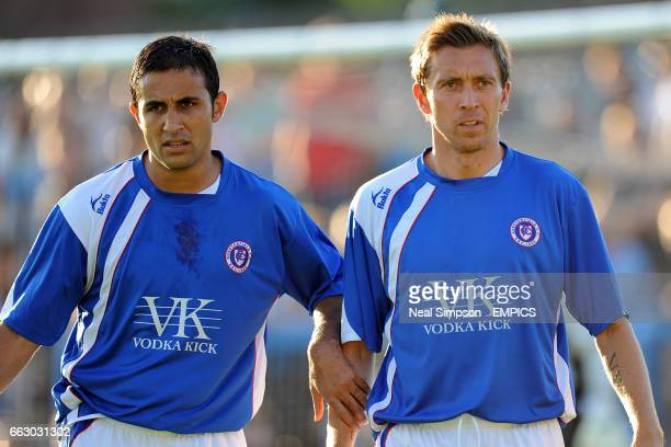 Chesterfield's Jack Lester and Darren Currie