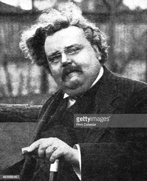 GK Chesterton English writer early 20th century