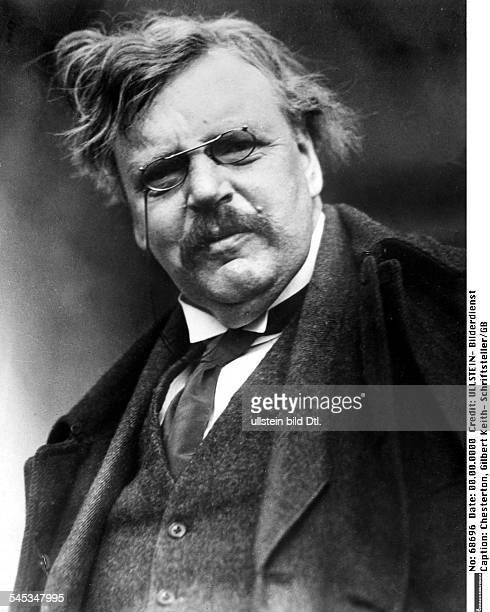 Chesterton Gilbert Keith *18741936Schriftsteller GBPorträt undatiert