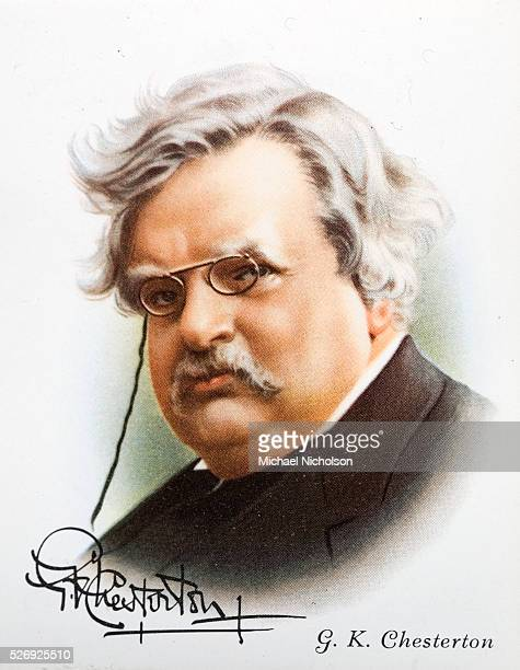 GK Chesterton was one of the most influential English writers of the 20th century His prolific and diverse output included journalism philosophy...