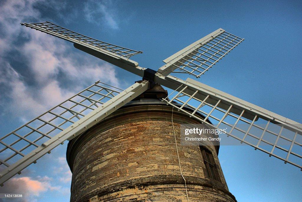 Chesterton windmill : Stock Photo