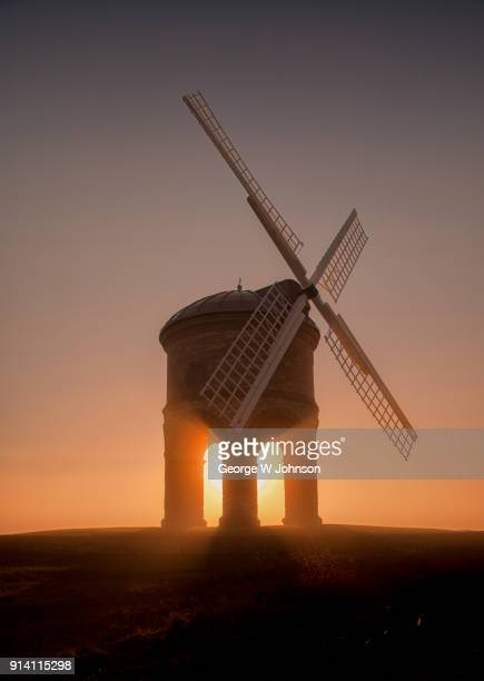 chesterton windmill - chesterton stock photos and pictures