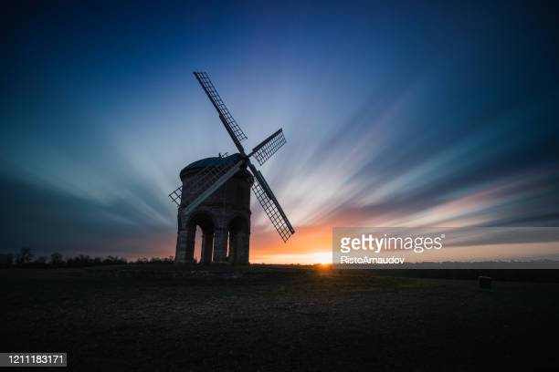 chesterton windmill uk - history stock pictures, royalty-free photos & images