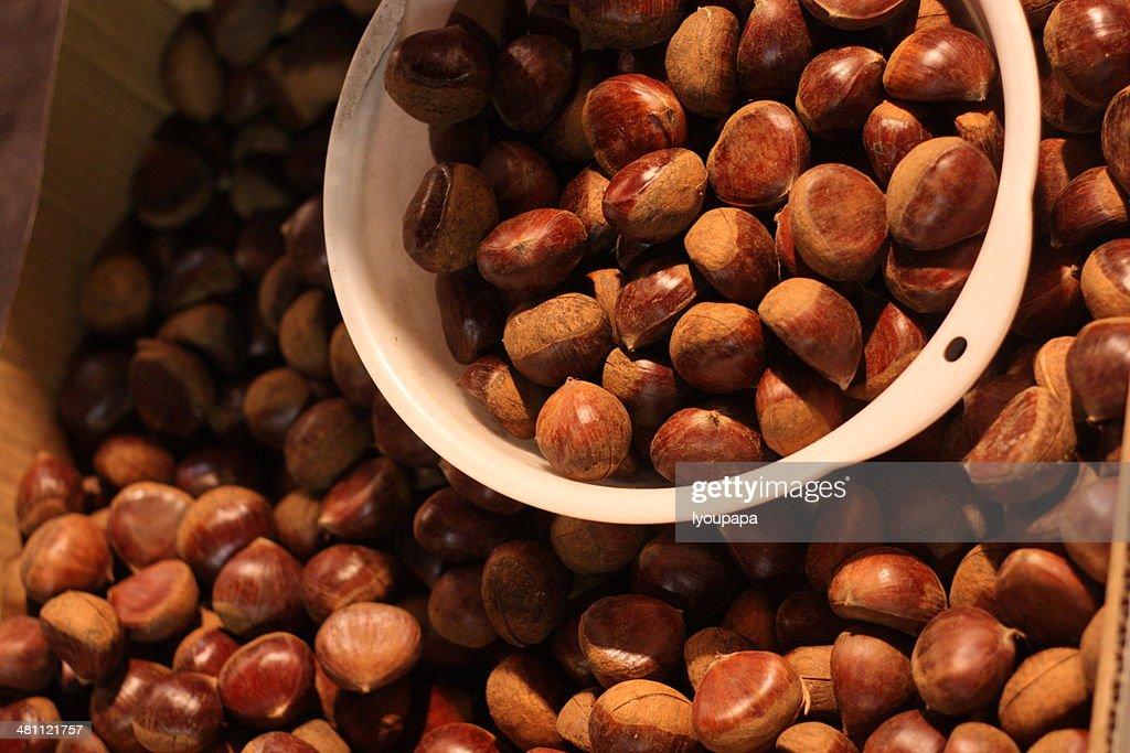 Chestnuts : Foto de stock