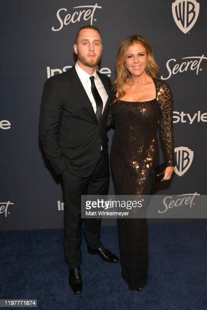 Chet Hanks and Rita Wilson attend The 2020 InStyle And Warner Bros 77th Annual Golden Globe Awards PostParty at The Beverly Hilton Hotel on January...