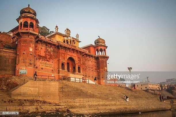 chet singh ghat, varanasi, uttarpradesh, india - ghat stock pictures, royalty-free photos & images